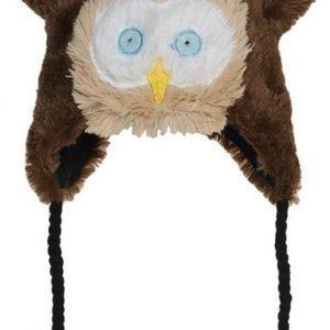 Hatley Lakki Fuzzy fleece hat Pöllö