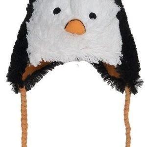 Hatley Lakki Fuzzy fleece hat Pingviini