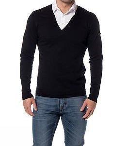 Headline Double Shirt Black