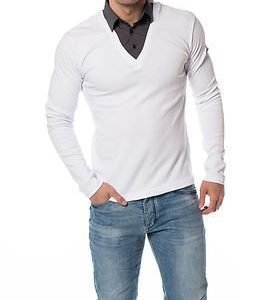 Headline Double Shirt White