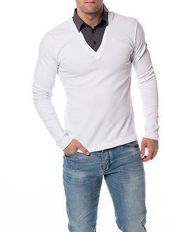 Headline Double Shirt White