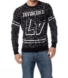 Headline Sweater Invincible Black