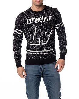 Headline Sweater Invincible Black