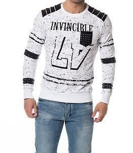 Headline Sweater Invincible White