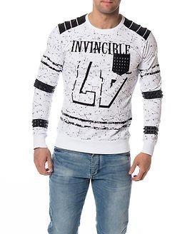 Headline Sweater Invincible White