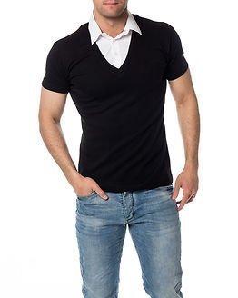 Headline T-shirt Double Black