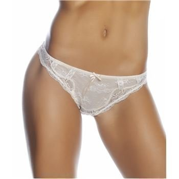 Heidi Klum Intimates Thong Dew Cream Tan