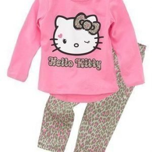 Hello Kitty Pyjama Roosa Leopardi