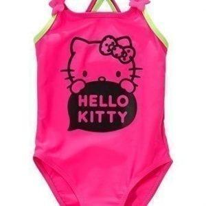 Hello Kitty Uimapuku Kirsikka Vihreä