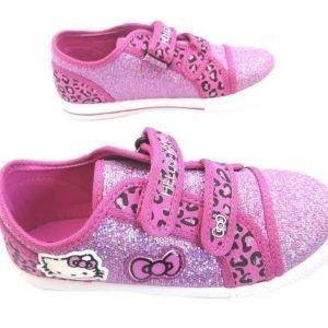 Hello kitty rosa glittriga skor str 28