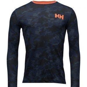 Helly Hansen Hh Active Flow Ls Graphic urheilualuspaita