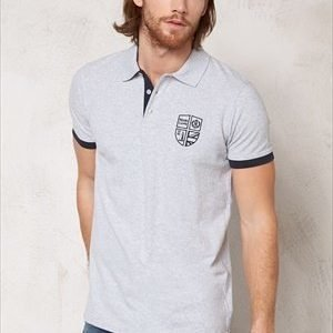 Henri Lloyd Eastbrook Polo Light grey melange