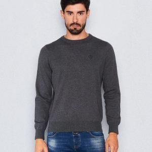 Henri Lloyd Moray Crew Neck Knit Grey Marl