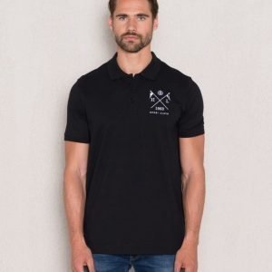 Henri Lloyd SH Polo Black