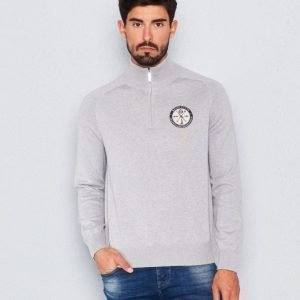 Henri Lloyd Saighton Half Zip Knit Grey Marl