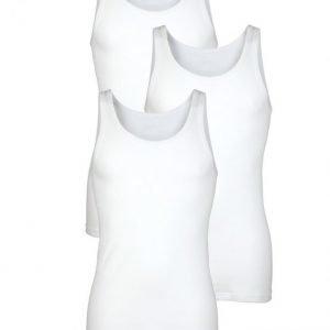 Hermko Aluspaita 3x Valkoinen