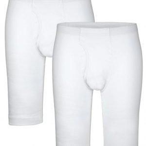 Hermko Lahkeelliset Alushousut 2x Valkoinen