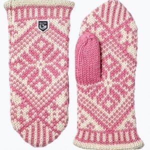 Hestra Nordic Wool Mitt Lapaset Joissa Villaa