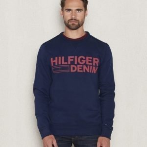 Hilfiger Denim Basic CN Hknit 33 Navy