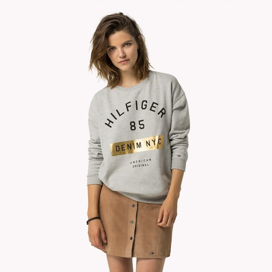 Hilfiger Denim Basic Graphic Collegepusero