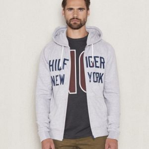 Hilfiger Denim Basic HD Zip Thru 2 Light Grey