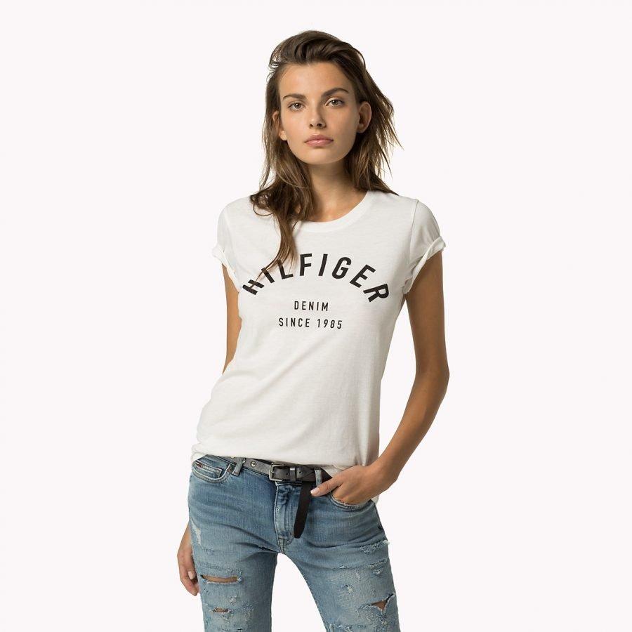 Hilfiger Denim Basic Naisten T-Paita