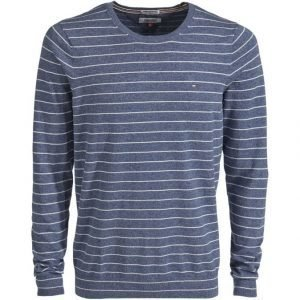 Hilfiger Denim Basic Text Stripe Neule