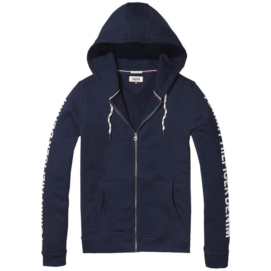 Hilfiger Denim Basic Zip Thru Miesten Collegehuppari