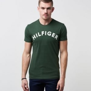 Hilfiger Denim CN T-shirt S/S 10 387 Green