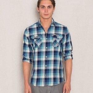 Hilfiger Denim Check Shirt 8 901 Blue Check
