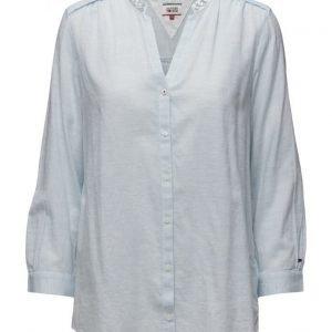 Hilfiger Denim Cotton Blouse L/S 11 pitkähihainen pusero