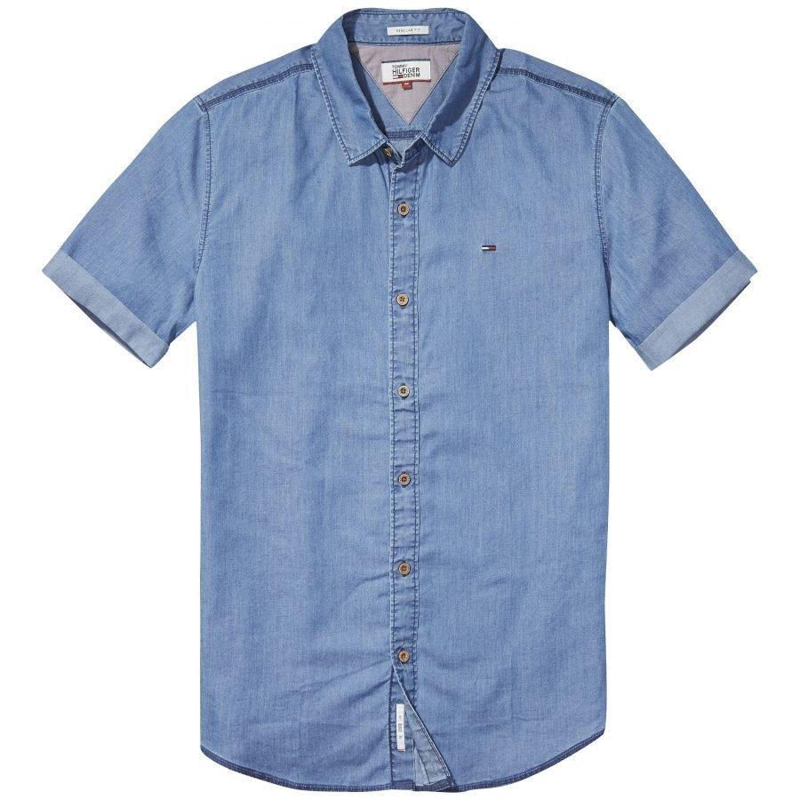 Hilfiger Denim Denim Shirt Miesten Kauluspaita