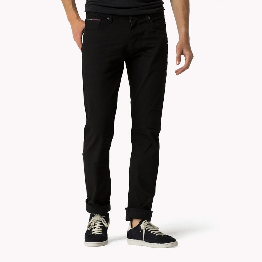 Hilfiger Denim Ryan Black 008 Regular Fit Farkut