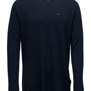 Hilfiger Denim Thdm Basic Cn Sweater L/S 3 pyöreäaukkoinen neule