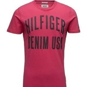 Hilfiger Denim Thdm Basic Cn T-Shirt S/S 11 lyhythihainen t-paita