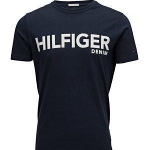 Hilfiger Denim Thdm Basic Cn T-Shirt S/S 39 lyhythihainen t-paita
