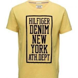 Hilfiger Denim Thdm Cn T-Shirt S/S 12 lyhythihainen t-paita