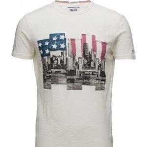 Hilfiger Denim Thdm Cn T-Shirt S/S 15 lyhythihainen t-paita