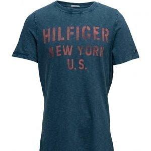 Hilfiger Denim Thdm Cn T-Shirt S/S 16b lyhythihainen t-paita