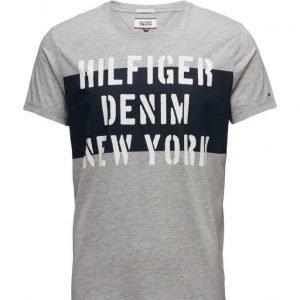 Hilfiger Denim Thdm Cn T-Shirt S/S 19 lyhythihainen t-paita
