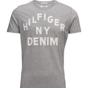 Hilfiger Denim Thdm Cn T-Shirt S/S 1b lyhythihainen t-paita