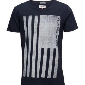 Hilfiger Denim Thdm Cn T-Shirt S/S 2 lyhythihainen t-paita