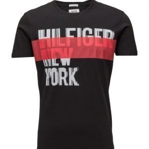 Hilfiger Denim Thdm Cn T-Shirt S/S 21 lyhythihainen t-paita