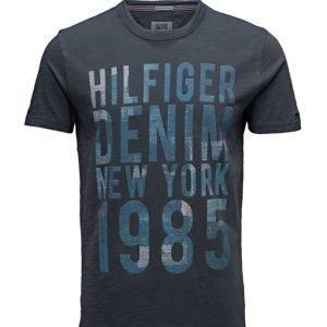 Hilfiger Denim Thdm Cn T-Shirt S/S 22 lyhythihainen t-paita
