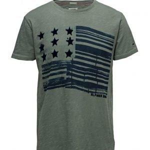 Hilfiger Denim Thdm Cn T-Shirt S/S 24 lyhythihainen t-paita