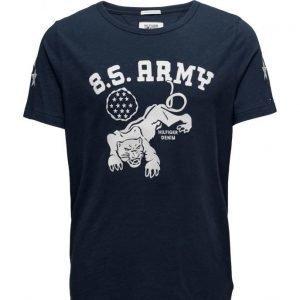 Hilfiger Denim Thdm Cn T-Shirt S/S 33 lyhythihainen t-paita