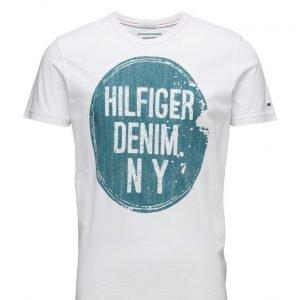 Hilfiger Denim Thdm Cn T-Shirt S/S 3b lyhythihainen t-paita
