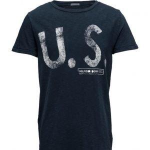 Hilfiger Denim Thdm Cn T-Shirt S/S 8 lyhythihainen t-paita