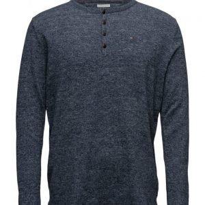 Hilfiger Denim Thdm Henley Sweater L/S 6 pyöreäaukkoinen neule