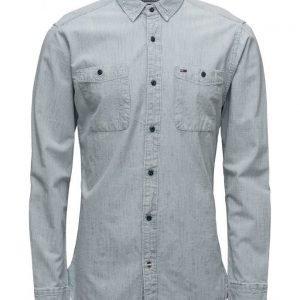 Hilfiger Denim Thdm Indigo Stripe Shirt L/S 33